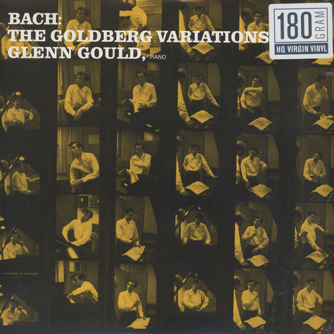 Glenn Gould - Bach: The Goldberg Variations 180g Vinyl Edition