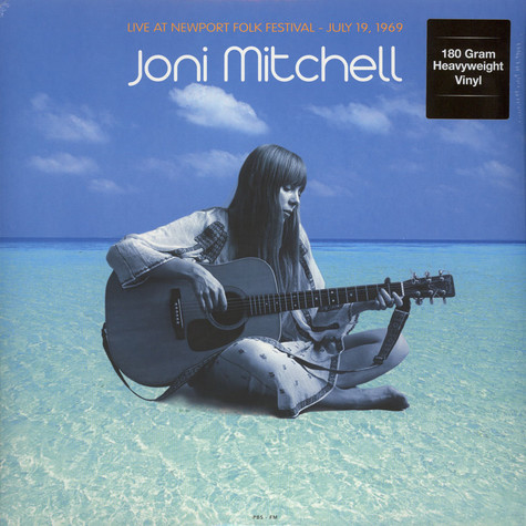 Joni Mitchell - Live At Newport Folk Festival : July 19 1969 180g Vinyl Edition