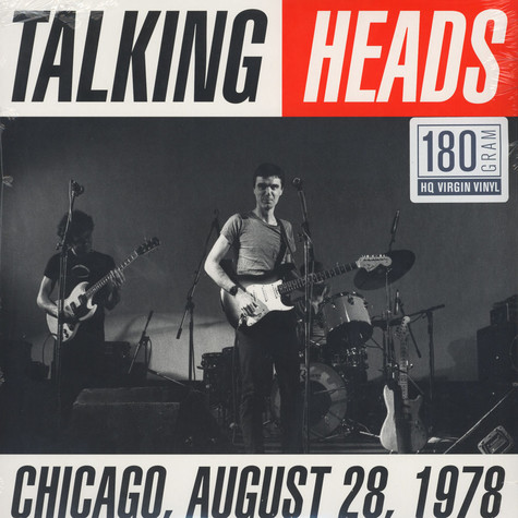 Talking Heads - Chicago August 28, 1978 180g Vinyl Edition