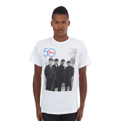 Beatles, The - 50th Side Logo T-Shirt