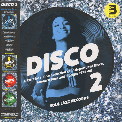 Soul Jazz Records Presents - Disco 2: A Further Fine Selection Of Independent Disco, Modern Soul And Boogie 1976-80 - LP 2