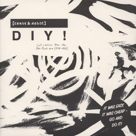 V.A. - [Cease & Desist] Diy (Cult Classics From The Post-Punk Era 1978-82)