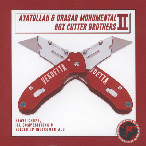 Ayatollah & Drasar Monumental - Box Cutter Brothers Volume 2