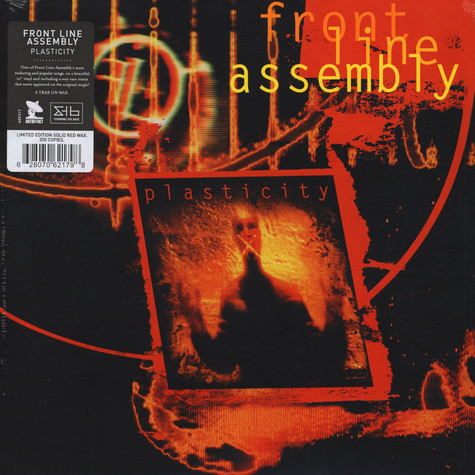Front Line Assembly - Plasticity Red Vinyl Edition