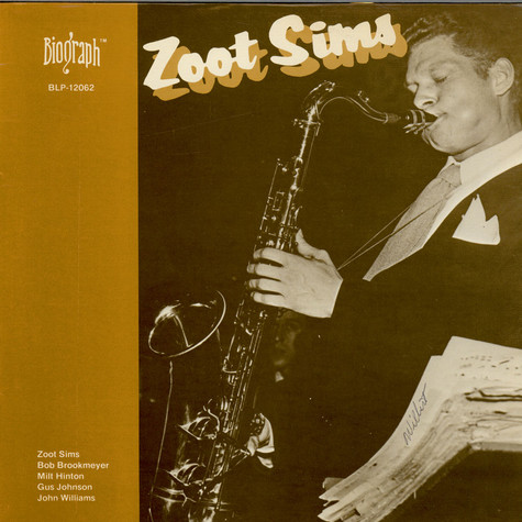 Zoot Sims - One To Blow On