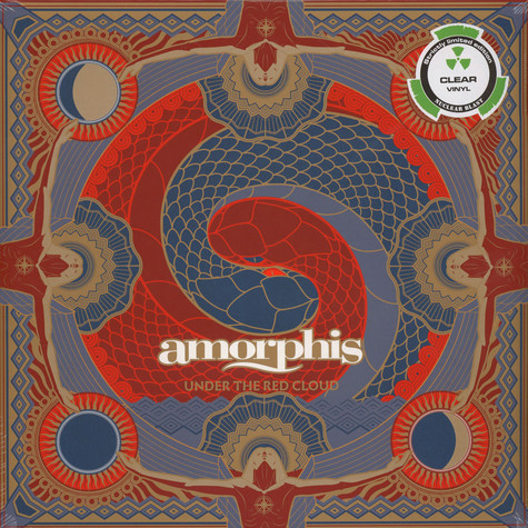 Amorphis - Under The Red Cloud Clear Vinyl Edition