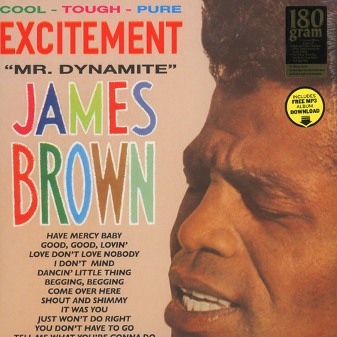 James Brown & His Famous Flames - Excitement - Mr. Dynamite