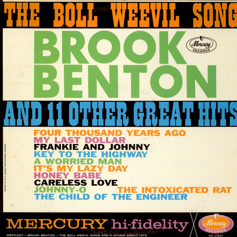 Brook Benton - The Boll Weevil Song And 11 Other Great Hits