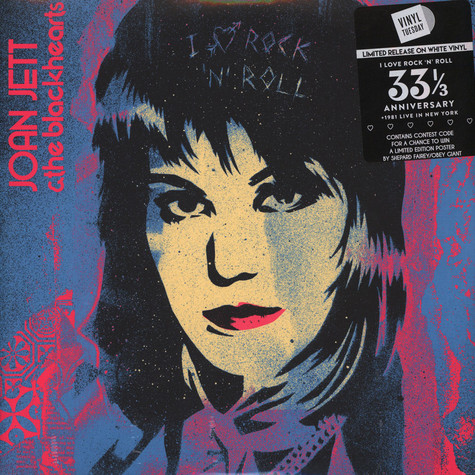 Joan Jett & The Blackhearts - I Love Rock 'N Roll 33 1/3 Anniversary Edition