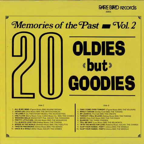 V.A. - Memories Of The Past Vol. 2