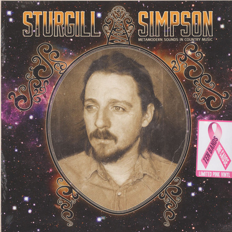 Sturgill Simpson - Metamodern Sounds In Country Music  Pink Vinyl Edition