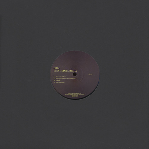 ORBE - Music Of The Spheres Steve Stoll Remix