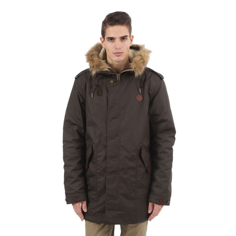 Fred Perry - Shearling Lined Wax Parka 60f52846761b