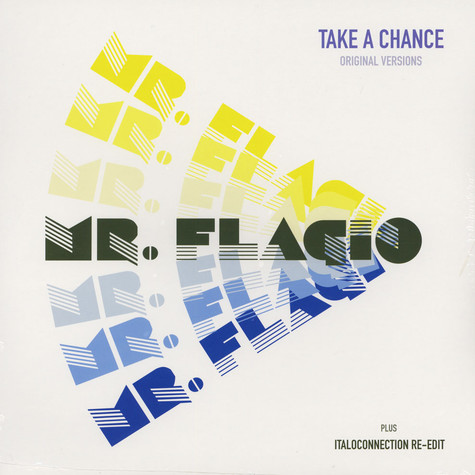 Mr. Flagio - Take A Chance Black Vinyl Edition