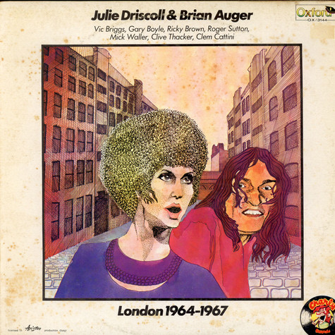 Julie Driscoll & Brian Auger - London 1964-1967