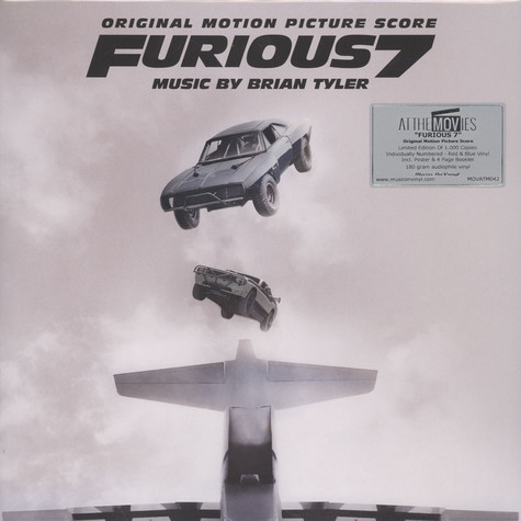 Brian Tyler - OST Furious 7 Black Vinyl Edition