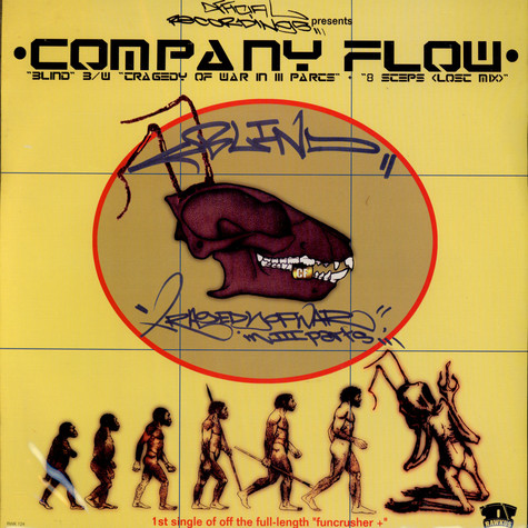 Company Flow - Blind / Tragedy Of War In III Parts