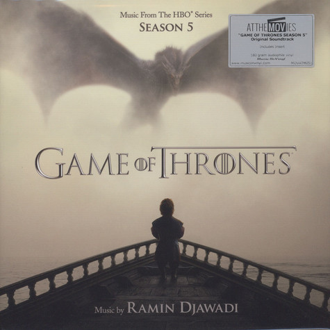 Ramin Djawadi - OST Game Of Thrones Season 5 Black Vinyl Edition