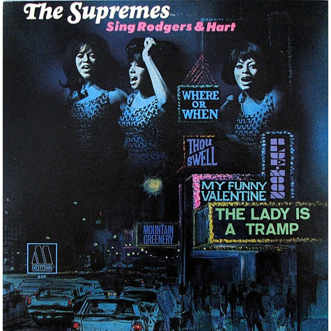 Supremes, The - The Supremes Sing Rodgers & Hart
