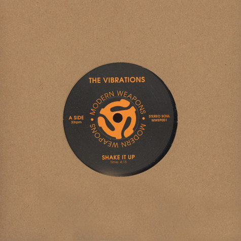 Vibrations, The / Arnold Blair - Shake It Up / Trying To Get Next To You