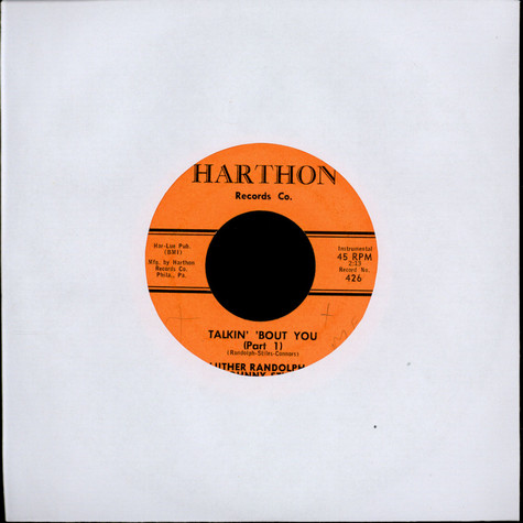Luther Randolph & Johnny Stiles - Talkin Bout You (Part 1) / Talkin Bout You (Part 2)