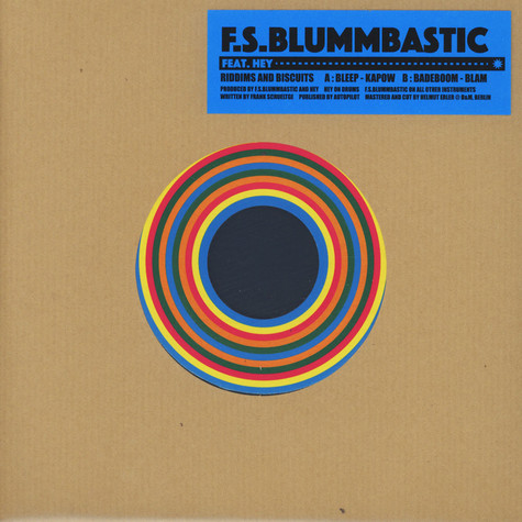 F.S. Blummbastic - Riddims And Biscuits Feat. Hey