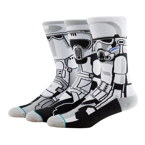 Stance x Star Wars - Trooper Socks (3 Socks)