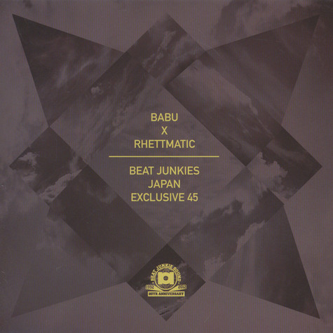 DJ Babu X DJ Rhettmatic - Beat Junkies Japan Exclusive 45