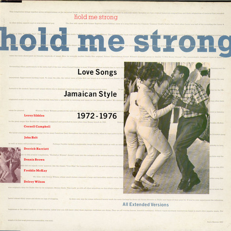 Various, - Hold Me Strong, Love Songs Jamaican Style 1972-1976