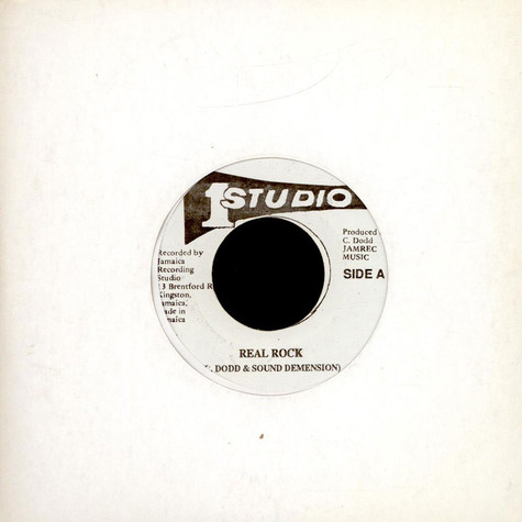 "Clement ""Coxsone"" Dodd & Sound Dimension - Real Rock"
