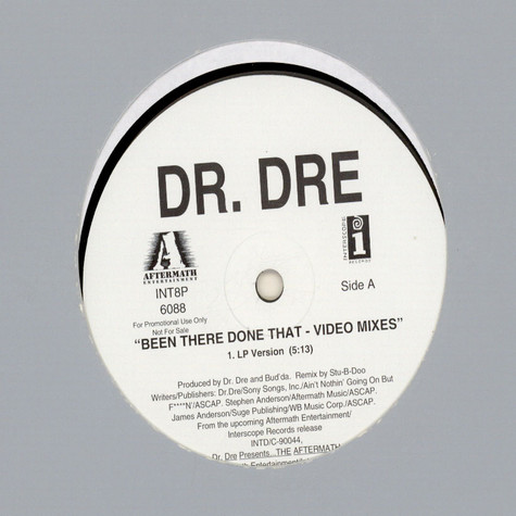 Dr. Dre - Been There Done That - Video Mixes