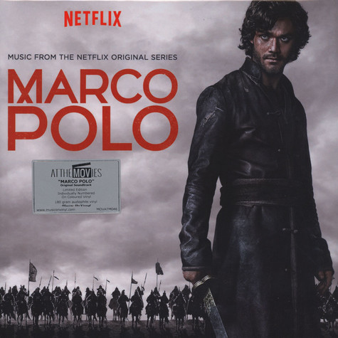Pier Luigi Andreoni & Nicola Alesesini - OST Marco Polo (Music From The Netflix Series) Clear Vinyl Edition