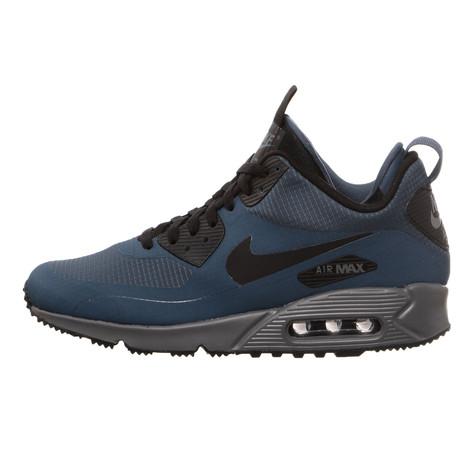 ea6f4d57504 Nike - Air Max 90 Mid Winter (Squadron Blue   Black   Dark Grey)