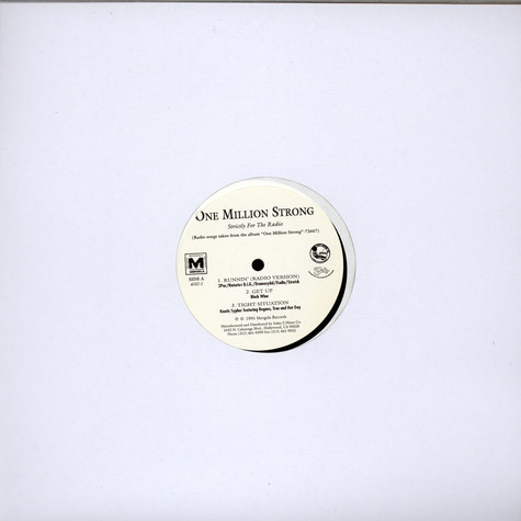 V.A. - One Million Strong (Strictly For The Radio)
