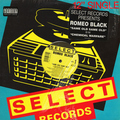 Romeo Black - Same Old Same Old / Chemical Warefare