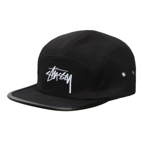 Stüssy - Melton Wool Camp 5-Panel Cap