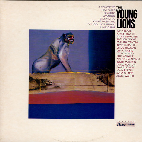 V.A. - Young Lions, The - A Concert Of New Music Played By Seventeen Exceptional Young Musicians - The Kool Jazz Festival June 30, 1982