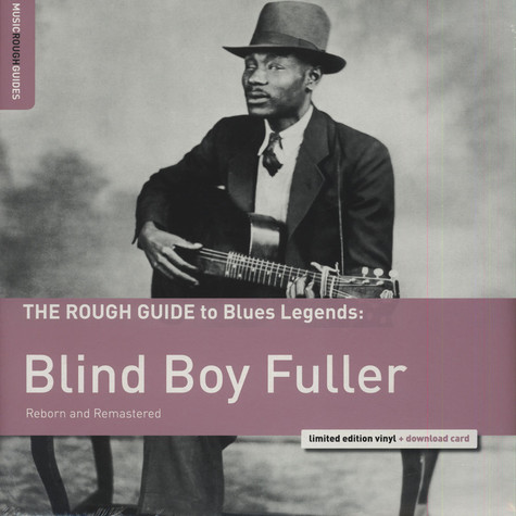 Blind Boy Fuller - The Rough Guide To Blind Boy Fuller