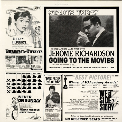 Jerome Richardson - Going To The Movies