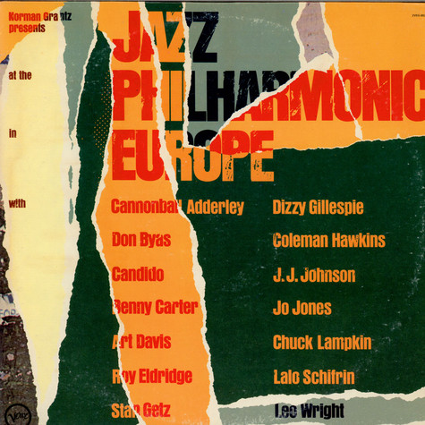 V.A. - Jazz At The Philharmonic In Europe