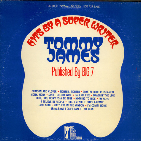 Tommy James - Hits By A Super Writer