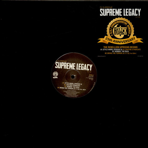 DJ Supreme - Hijack Remixes