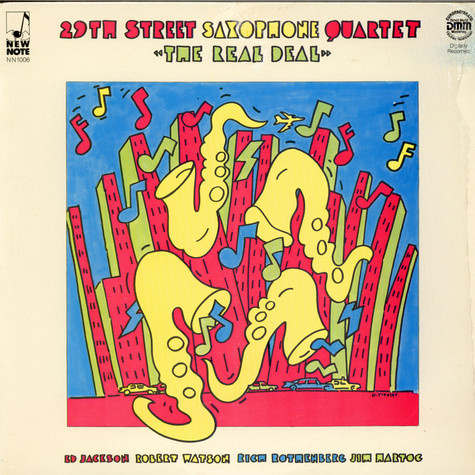 29th Street Saxophone Quartet - The Real Deal