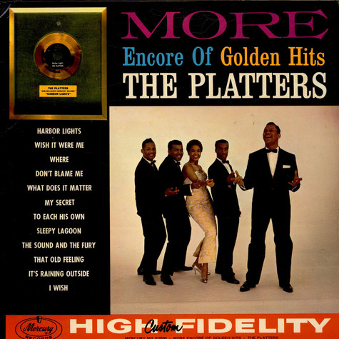 Platters, The - More Encore Of Golden Hits