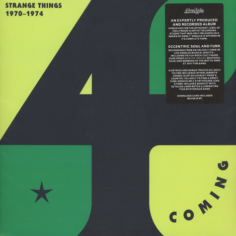 4th Coming - Strange Things: The Complete Works 1970-1974