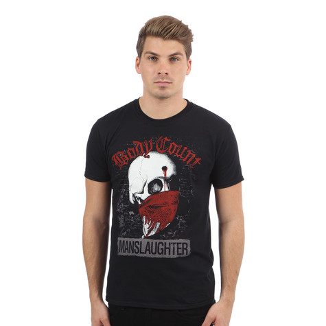 Body Count - Manslaughter T-Shirt
