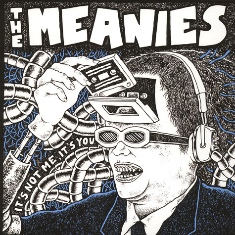 Meanies, The - It's Not Me, It's You Black Vinyl Edition