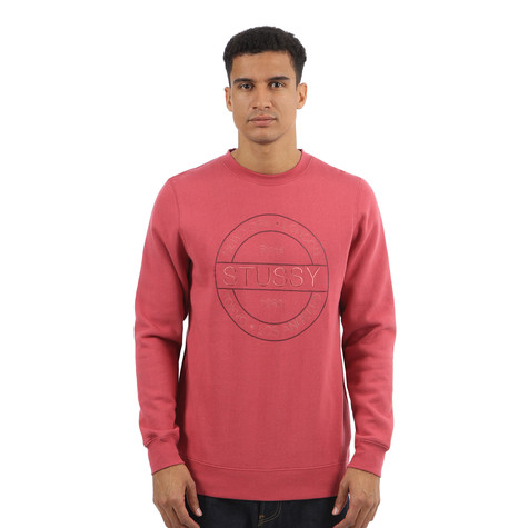 Stüssy - Round Stamp Crewneck Sweater