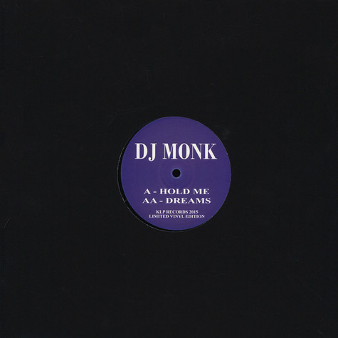 DJ Monk - Hold Me / Dreams