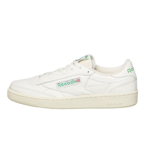 5a2bc0f52f7 Reebok - Club C 85 (Chalk   Paperwhite   Glen Green   Excellent Red ...